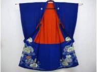 色留袖 金糸刺繍