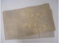 絽引箔袋帯