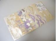 袋帯 じゅらく 帝王紫