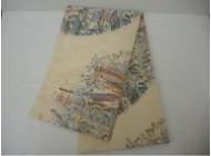 六通柄袋帯 西陣織